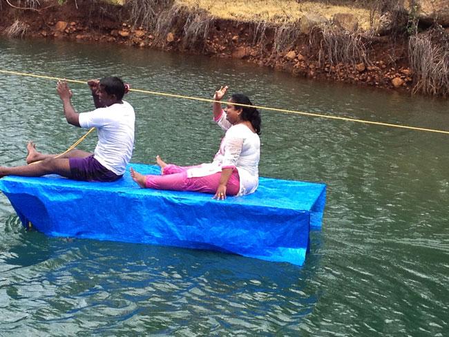 Water Rafting at FRANAV Farms
